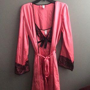 new directions Intimates & Sleepwear - Pretty In Pink Nighty & Robe